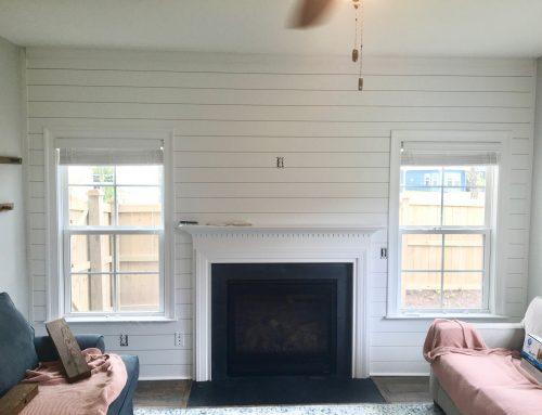 Shiplap | Living Room